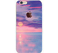 Setting Sun Pattern TPU Soft Phone Case for iPhone 6/6S
