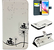 Cycling Dandelion Leather for Galaxy S5/S6/S6Edge/S6Edge Plus