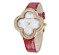 ILEWAY Fashion Ladies Watch Waterproof Leather Strap Watch