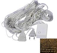 JIAWEN® 1.5 M 96 Diodo LED Blanco cálido / Púrpura Conectable 4.0 W Cuerdas de Luces AC220 V
