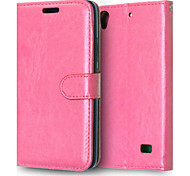 PU Leather + TPU Back Cover Wallet Case Flip Cover Photo Frame Case for Huawei Ascend G620s