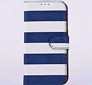 Stripes Pattern Flip Full Body Case Cover for iPhone 6 (Assorted Colors)