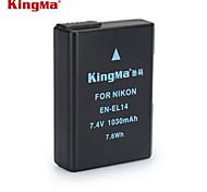kingma en-EL14 batería de la cámara digital para Nikon D3200 D3100 D5100 D5200 D5300 d3300 P7000 P7100 mh-24