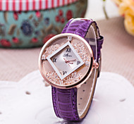 Women's Fashion Watch Creative New Drilling Loose Sand Box Simple Quartz Watch Cool Watches Unique Watches