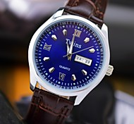 L.WEST Men's Waterproof Calendar Quartz Pointer Watch Wrist Watch Cool Watch Unique Watch Fashion Watch