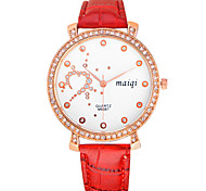 Women's Fashion Leather Band Outdoor Casual Watch