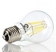 1 pezzo MORSEN E26/E27 6W / 8W 4 COB 500-600LM LM Bianco caldo / Luce fredda G60 edison Vintage Lampadine globo LEDAC 220-240 / AC