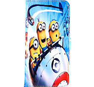 Daddy Series of Small Yellow People Pattern Magnet Phone Holster Buckle for iPhone 5/5S