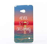 Charming Sunshine Pattern TPU Soft Case for Nokia N640