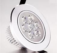 HRY® 7W 7LEDS 750LM Warm/Cool White Color LED Receseed Lights Ceiling Lights(85-265V)