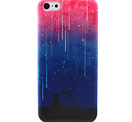 Meteor Pattern TPU Case for iPhone 5C