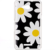 Chrysanthemum Pattern TPU Phone Case for Sony Xperia E4G