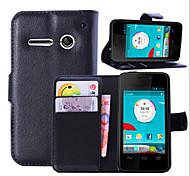 Защитный рукав личи владельца зерна для Vodafone смарт 4 мин мобильный телефон