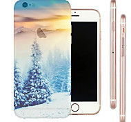 Limit Cedar Top Scenery TPU Material Soft Phone Case for iPhone 6/6S
