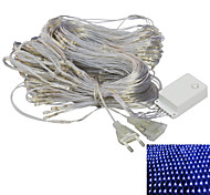 JIAWEN® 2x2M 8W 192-LED 8-Mode RGB / White / Warm White / Blue Light Ornamental Net Lights (EU Plug , AC 220V)
