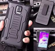 ji de TPU + PC 3 en 1 armure lourde incidence robuste clip ceinture Housse pour Samsung Galaxy Note 3 / note 4 / note 5