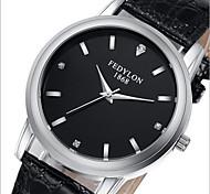 marca positiva homem impermeável relógio de quartzo