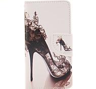 Для Кейс для  Samsung Galaxy Бумажник для карт / со стендом / Флип / Магнитный / С узором Кейс для Чехол Кейс для Соблазнительная девушка
