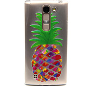 pineapple Pattern TPU Relief Back Cover Case for  LG Spirit H440N/H422