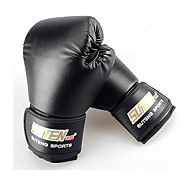 Boxing Gloves Mittens Women's / Men's / Kid's Wearable / Shockproof Boxing Polyester / PU Black
