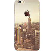 Perfect Close New York TPU Material Soft Phone Case for iPhone 6 Plus/6S Plus