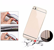 Aluminum Frame Acrylic Panel Hard Back Cover Ultra Slim Anti-Shock Shell  Metal Case For iPhone 6 (Assorted Colors)