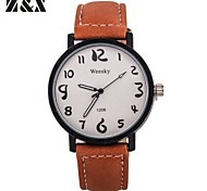 Women's Fashion Simplicity Pattern Quartz  Leather Analog Wrist Watch(Assorted Colors) Cool Watches Unique Watches