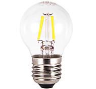 2W E26/E27 Bombillas LED de Globo G60 4 COB 300-350 lm Blanco Cálido AC 100-240 V 5 piezas