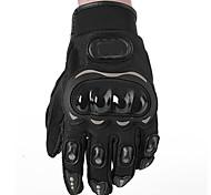 Motorrad-Handschuhe Vollfinger ESP+PC M / L / XL / XXL Schwarz