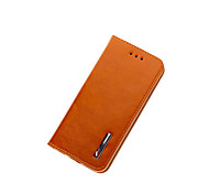 Top Grade Business Genuine Flip Leather for iPhone 6s 6 Plus