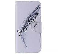Blattmuster Handy Leder für Samsung Galaxy Note 5