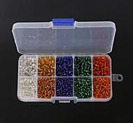 1 Box/165g Beads - di vetro
