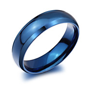 Z&X® Fashion Titanium Steel Ring Band Rings Party / Daily / Casual 1pc