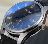 Ms. Korean Version Of The New Blu-ray Disc Roman Calendar Watches Fashion Personality Mirror (Assorted Colors)