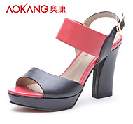 Aokang® Women's Leather Sandals - 132811038