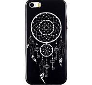 Dreamcatcher Pattern TPU Phone Case for iPhone 5/iPhone 5S