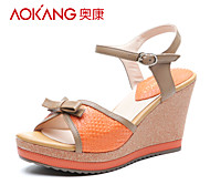 Aokang® Women's Leather Sandals - 132823260