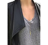 Women's Simple Double Long Necklace