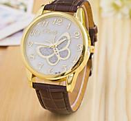 donna orologio da polso farfalla