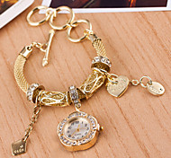 Woman Braided Bracelet  Wrist  Watch Cool Watches Unique Watches
