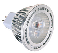 5W GU5.3(MR16) LED-spotlampen MR16 3 SMD 450 lm Warm wit / Koel wit Decoratief AC 85-265 / AC 12 V 1 stuks