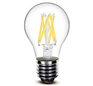 1 pcs #(Shenmeile) E26/E27 6W 6 COB 600 LM Warm White G60 edison Vintage LED Filament Bulbs AC 220-240 V