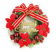 Tür hängende Ornamente 30cm Weihnachtskranz