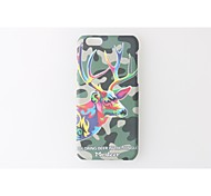 Animal Pattern PC Hard Phone Case for iPhone 6