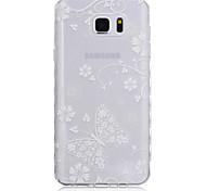nuove ondate modello farfalla scivolare maniglia TPU soft phone per Samsung Galaxy Note 5/4/3