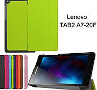 casi tablet protettive custodie in pelle Staffa fondina per lenovo Tab2 a7-20f