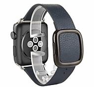 fibbia moderno vero e proprio orologio da polso in pelle banda braccialetto cinturino band con Ricambi di chiusura per la vigilanza mela