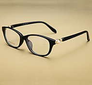 [Free Lenses]  Women 's Acetate/Plastic / Mixed Materials Cat-eye Full-Rim Classic Prescription Eyeglasses