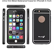 Redpepper Ultra Slim Aluminum Bumper Metal Waterproof Shockproof Case For iPhone 6s/6