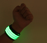 LED Safety Slap Armband Cycling Jogging Walking Reflective LED Armband